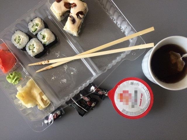 Эксперимент U24: можно позволить себе роллы в обед