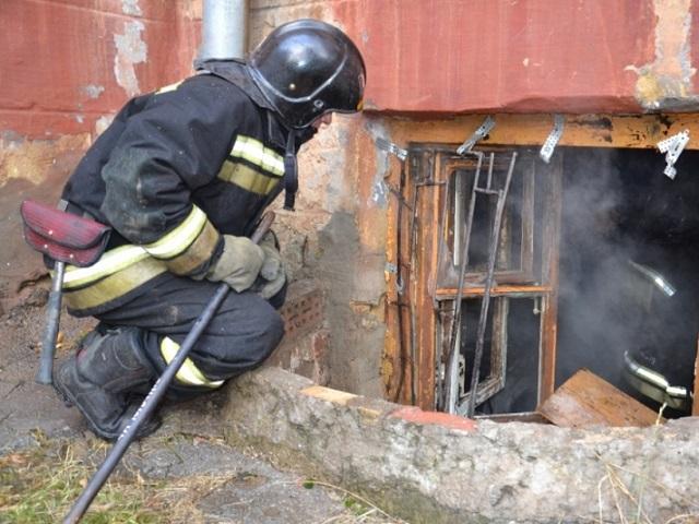 4-летний мальчик обгорел при пожаре в подвальном помещении