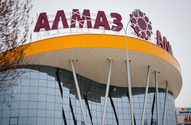 ВЧелябинске эвакуируютТК «Алмаз»