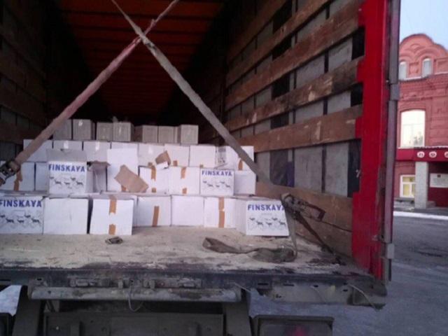Фуру сконтрафактным спиртом задержали награнице сКазахстаном