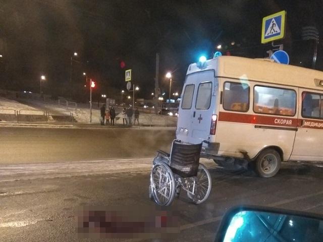 На Южном Урале водитель кроссовера насмерть сбил инвалида-колясочника