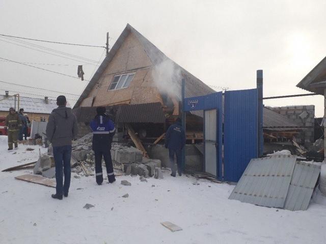 ВКыштыме из-за взрыва газа обвалился дом
