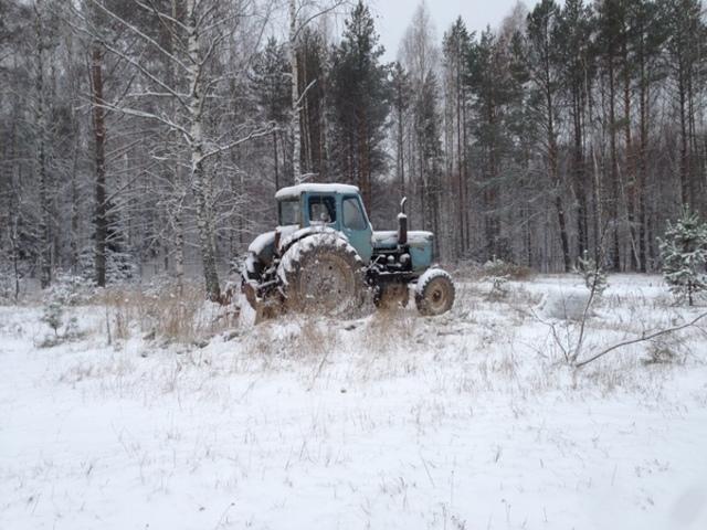 НаЮжном Урале тракторист вдруг поломал полсотни сосен