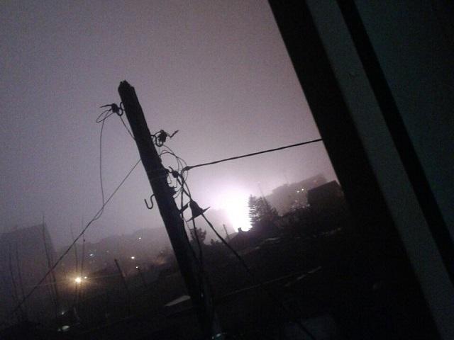 Челябинцев всполошила яркая вспышка в ночном небе