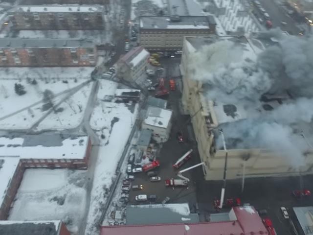 «Мы горим. Возможно прощайте»: в Кемерово при пожаре ТЦ погибли 37 человек. Еще 69 объявлены пропавшими без вести