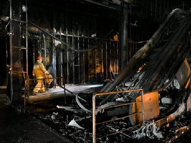 Названо четкое место начала пожара вТЦ «Зимняя вишня»