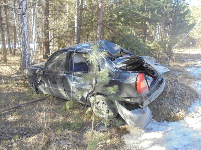 В Челябинской области водитель ГАЗели «отправил» в кювет легковушку
