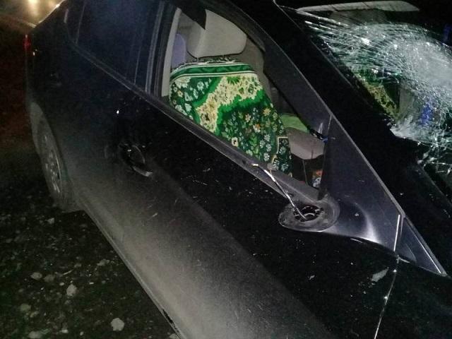 В Сосновском районе пешеход погиб под колесами иномарки в ночном ДТП