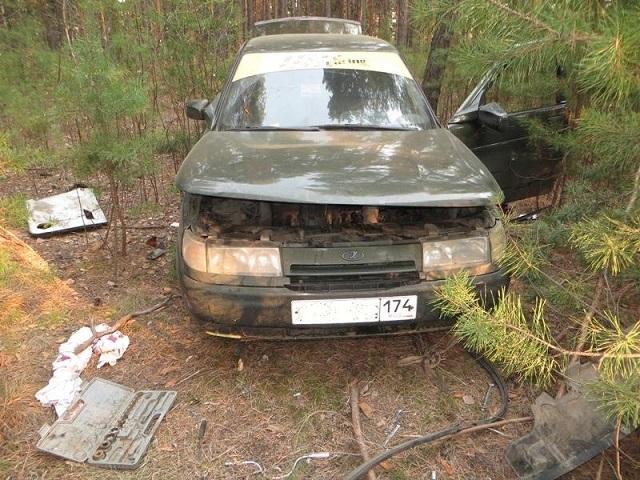 Не успел разобрать: в Троицке задержали угонщика отечественного автомобиля