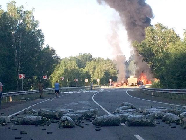На Южном Урале в ДТП погибли водители большегрузов