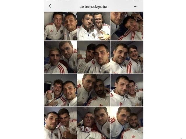 Instagram Артема Дзюбы стал поводом для шуток пользователей соцсетей