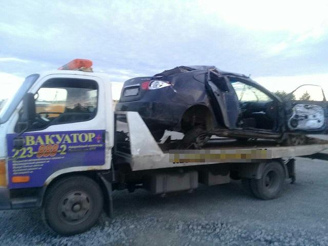 27-летняя пассажирка иномарки погибла в ДТП в Челябинской области