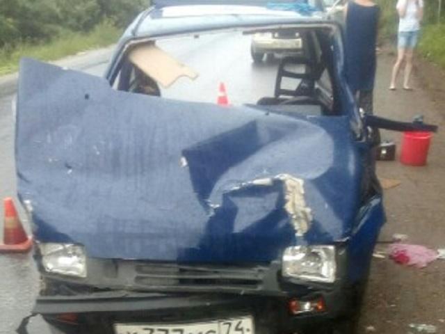 На Южном Урале столкнулись четыре автомобиля