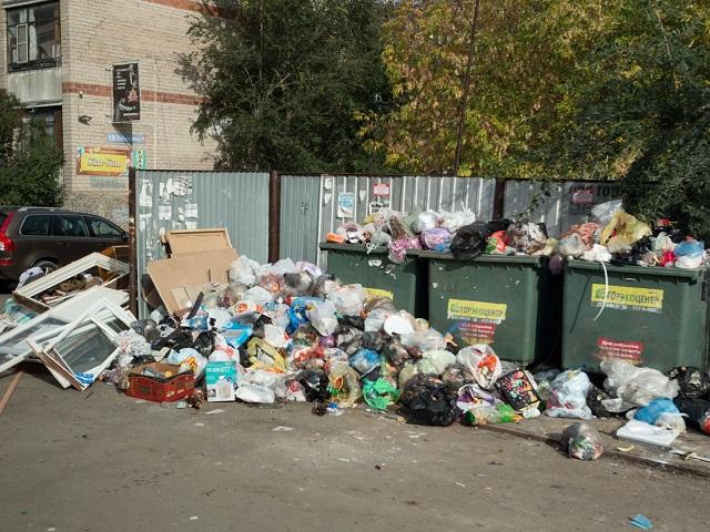 На вывоз мусора в Челябинске выделили еще 20 млн рублей