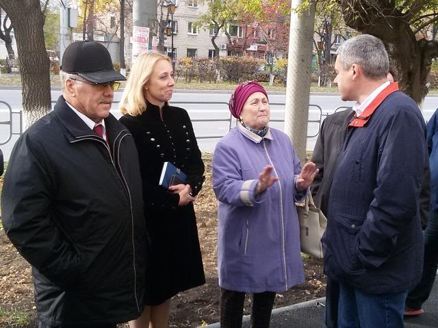 Глава Миасса оценил ход работ по созданию комфортной городской среды в центральной части города