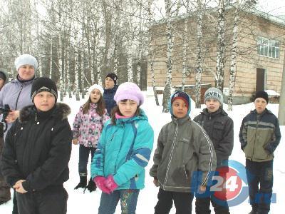 Юные ашинцы подрумянили щёчки на морозце