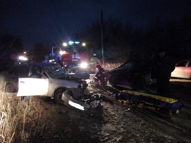 В Троицке водитель серьезно пострадал в ДТП из-за неудачного обгона