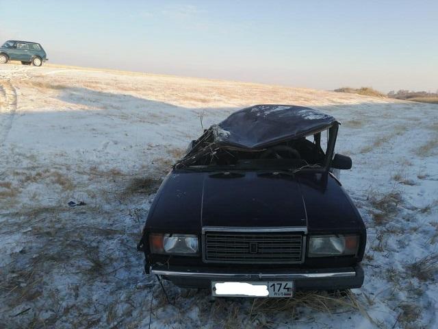 В Челябинской области пассажир пострадал после переворота «классики»