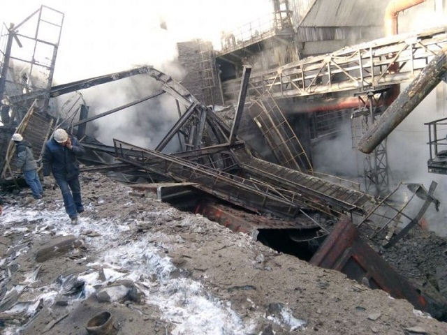 При обрушении наМагнитогорском металлургическом комбинате умер  рабочий