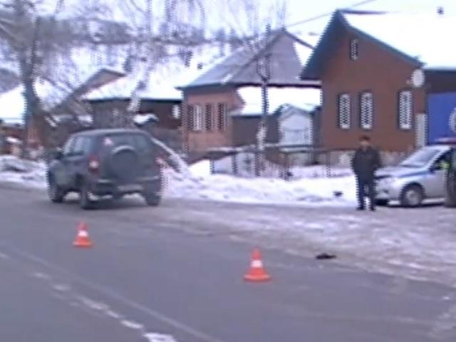 Момент смертельного наезда на пешехода в Челябинской области попал на видео