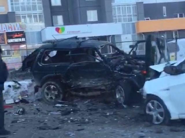 В Челябинске водитель «Нивы» протаранил встречную легковушку