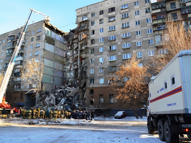 В Магнитогорск из-за взрыва в многоэтажном доме прилетел Владимир Путин
