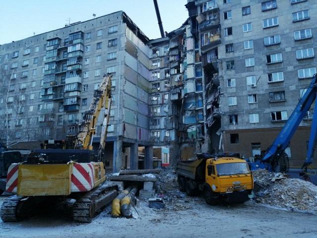 В Магнитогорске обсудили план демонтажа подъездов на месте взрыва газа