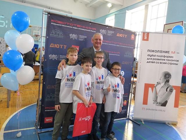 Миасские школьники привезли награды с Робофеста