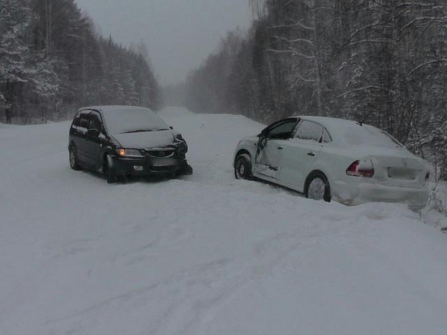 Миасец за рулем иномарки попал в ДТП под Карабашом