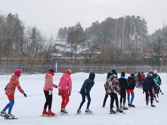 На «Миасском льду» провели областные соревнования и обсудили перспективы развития спорта