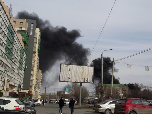 Стала известная причина пожара в строящемся конгресс-холле в Челябинске