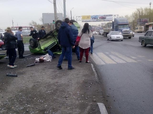 На Южном Урале девушка пострадала при столкновении легковушек