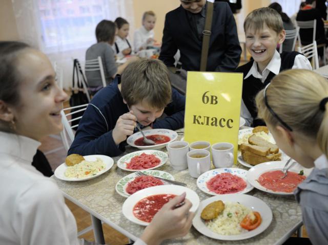 В России изменят систему питания в школах
