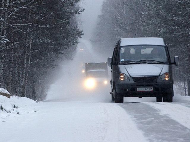 В России могут снизить допустимую скорость автомобилей зимой