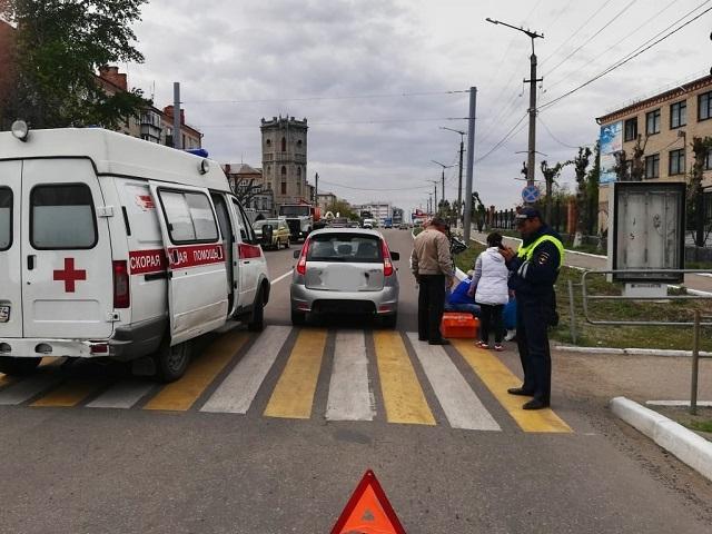 В Троицке женщина за рулем легковушки сбила пешехода