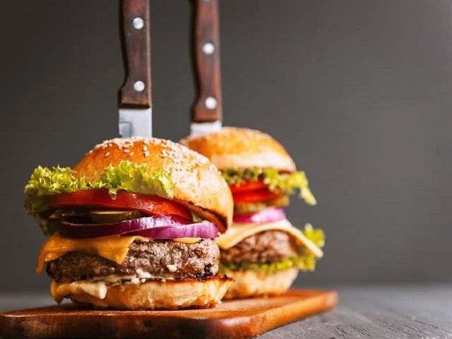 Домашний бургер: рецепт с фото
