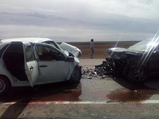 Лобовое ДТП в Челябинской области унесло жизни двух человек