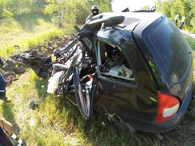 На Южном Урале водитель «Лады» погиб в столкновении с грузовиком