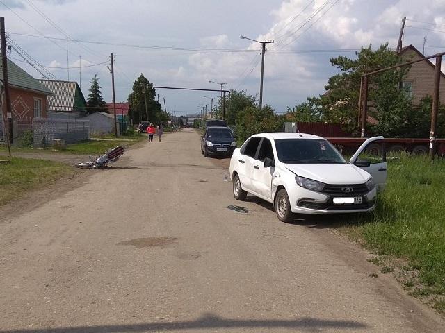 В Челябинской области в ДТП пострадали два подростка