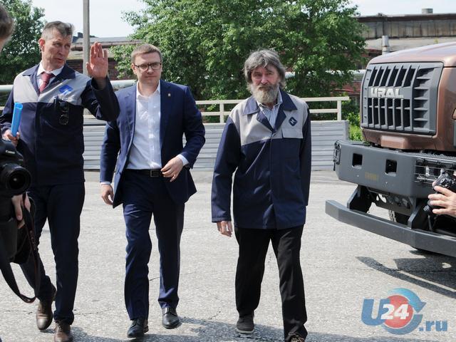 Алексей Текслер познакомился с производством автомобилей «Урал»