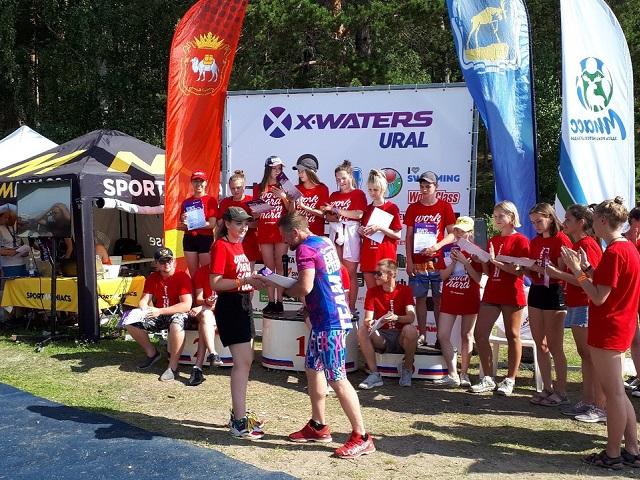 Стали известны победители массового заплыва X-Waters на озере Тургояк
