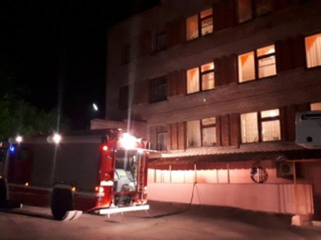 В Челябинской области из-за пожара эвакуировали пациентов психдиспансера