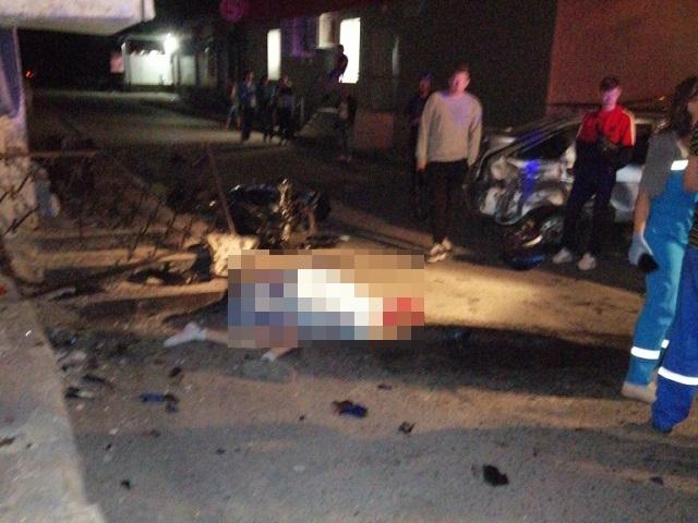 В Златоусте мотоциклист разбился насмерть в ДТП с легковушкой