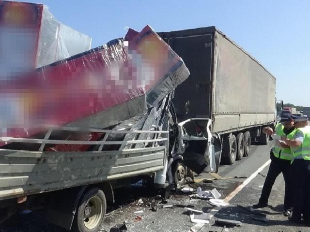 В Челябинской области в ДТП с грузовиком погиб водитель «Газели»
