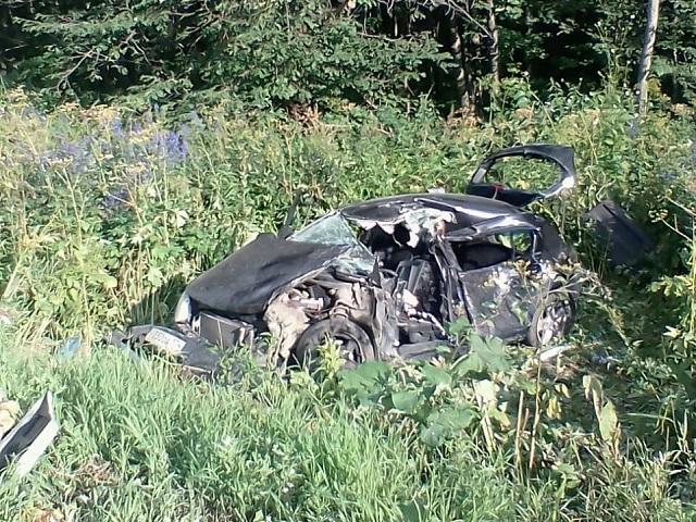 Четыре человека пострадали в массовой аварии на М-5 в Челябинской области