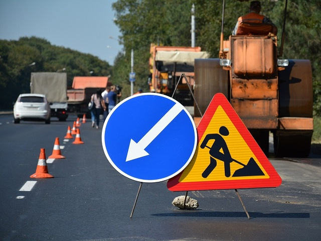 На участке трассы М-5 под Миассом введено ограничение движение транспорта