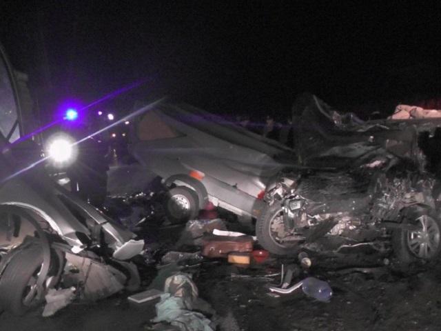 Водитель из Челябинска погиб в массовом ДТП на трассе в соседней области