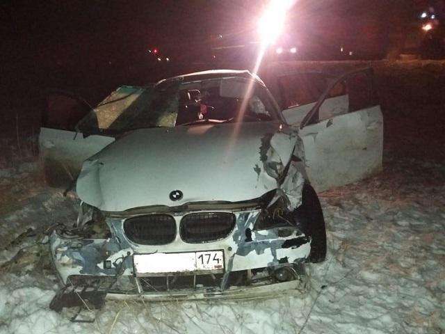 В Челябинской области погиб бесправный водитель BMW