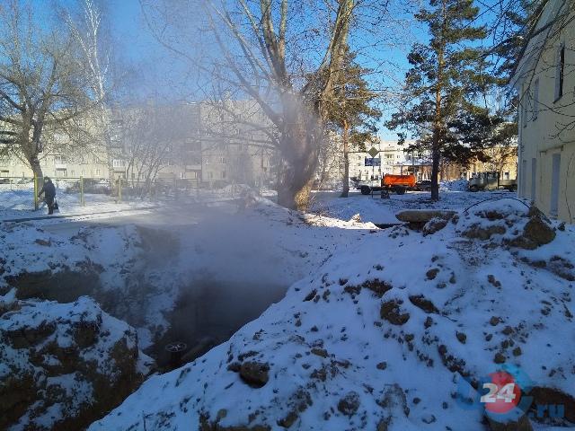 В Чебаркуле несколько домов остались без отопления в 20-ти градусный мороз