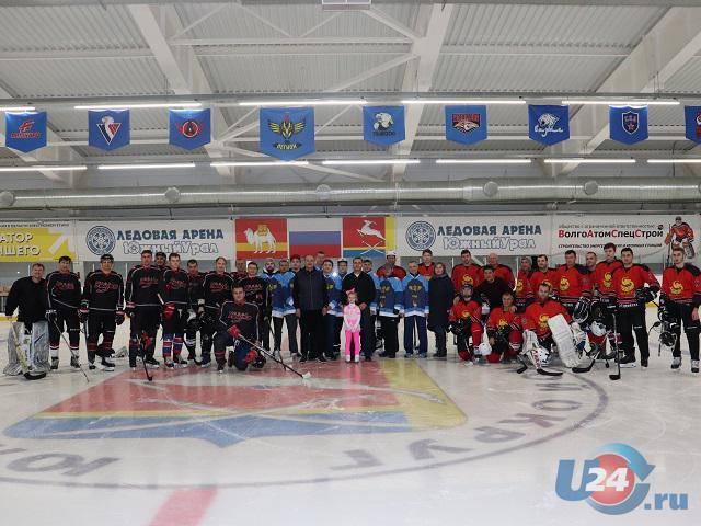 В Южноуральске состоялось открытие турнира по хоккею